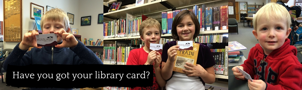 Have you got your library card? web banner