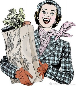 vintage-1950s-woman-groceries-8380728