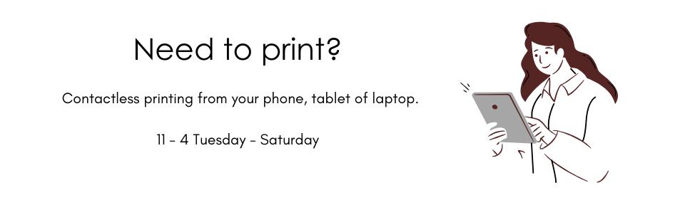 Contactless printing