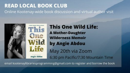 Read Local Book Club with Angie Abdou